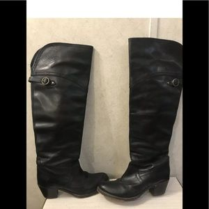 Frye Knee High Riding Western Cowboy Boots Sz 6 B